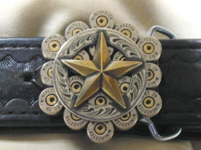 357 Magnum American Eagle Belt Buckle