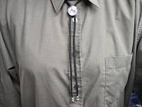 Bolo Tie on Shirt
