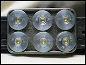 Shotgun Shell Belt Buckles