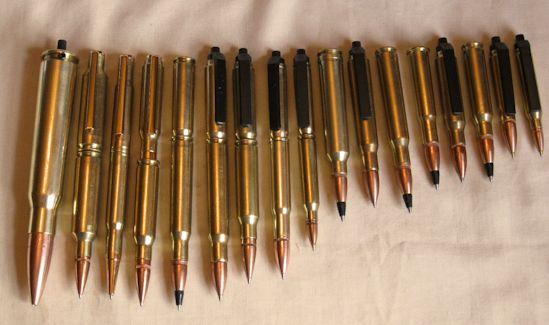 Authentic Bullet Pens