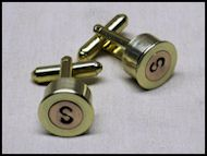 Bullet Monogram Cufflinks