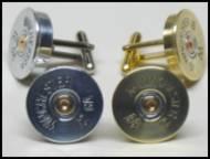 12 Gauge Shotgun Shell Cufflinks