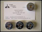 Lawman Bullet Belt Buckles