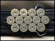 Straightline Bullet Belt Buckles