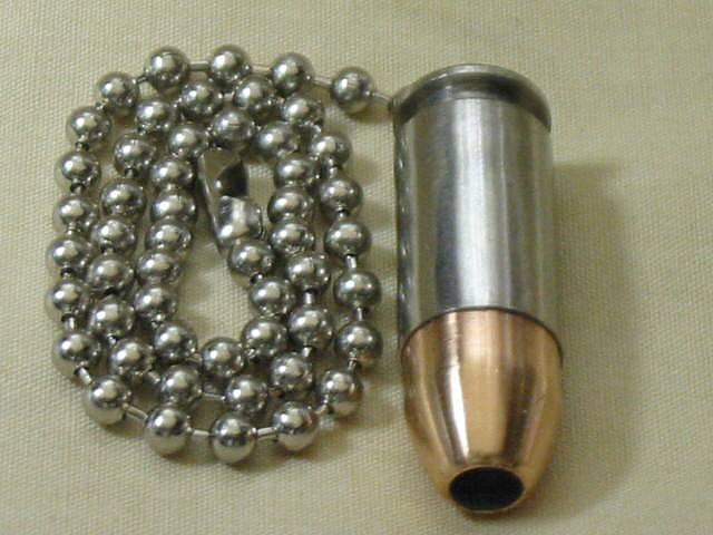 A well dressed bullet shotgun shell and bullet ceiling fan light pulls handgun bullet ceiling fan light pull aloadofball Images