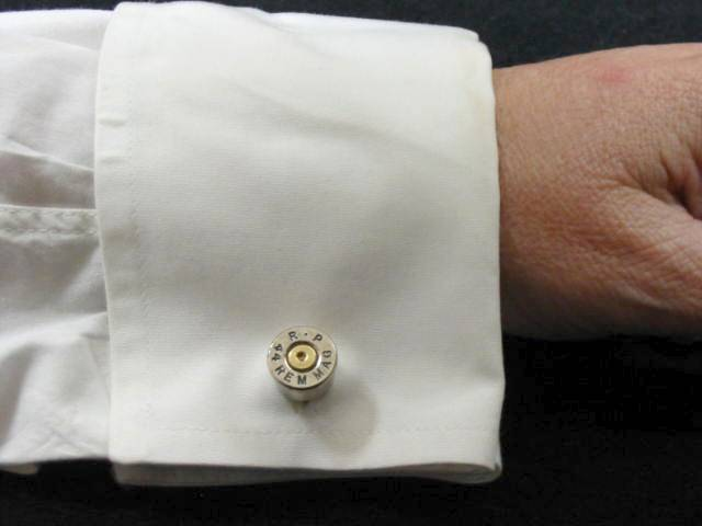 groomsmen gift gift for him cufflinks 45 caliber automatic Winchester bullet cuff links