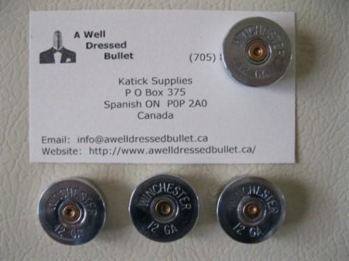 Shotgun Shell Fridge Magnet Set