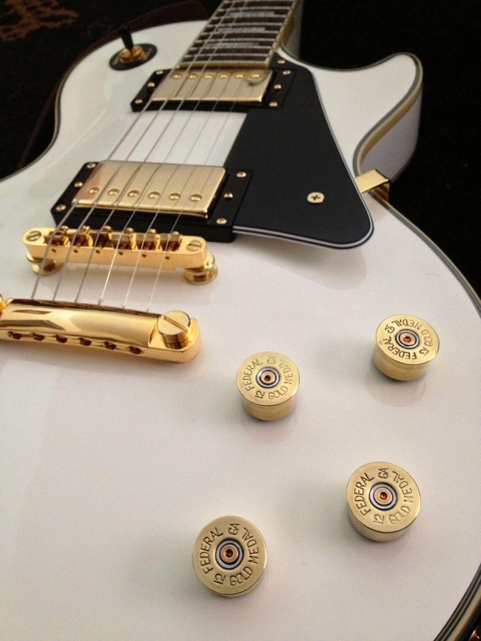 Federal Shotgun Shell Guitar Knobs