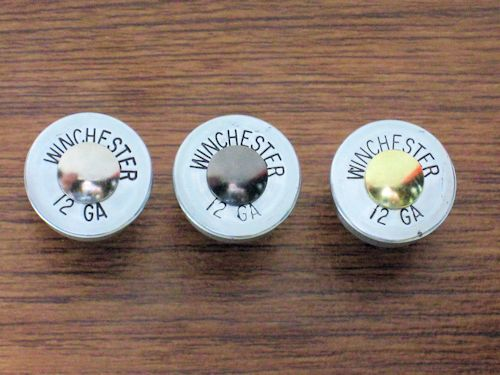 Designer Shotgun Shell Drawer Knobs
